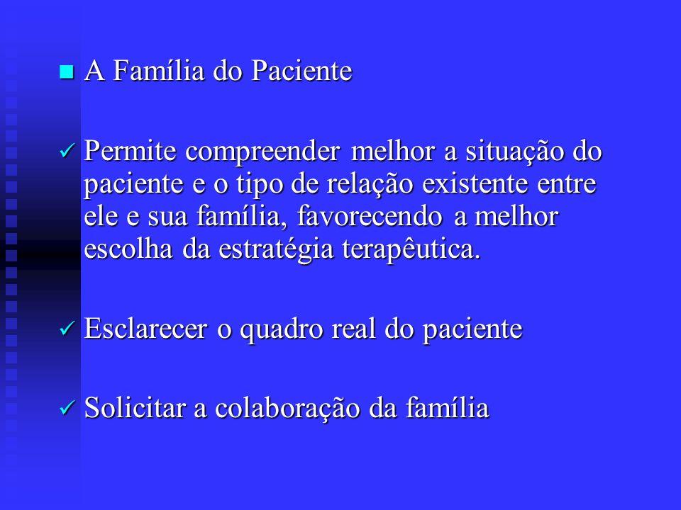 A Família do Paciente