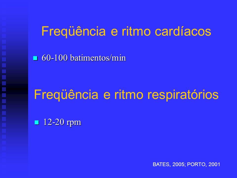 Freqüência e ritmo cardíacos