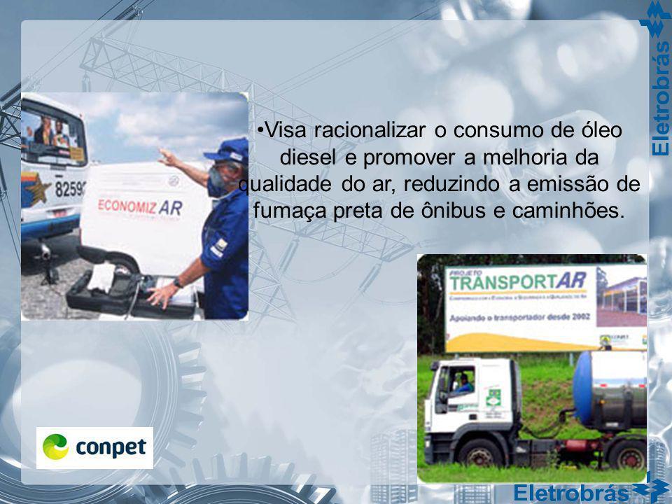 Visa racionalizar o consumo de óleo diesel e promover a melhoria da qualidade do ar, reduzindo a emissão de fumaça preta de ônibus e caminhões.