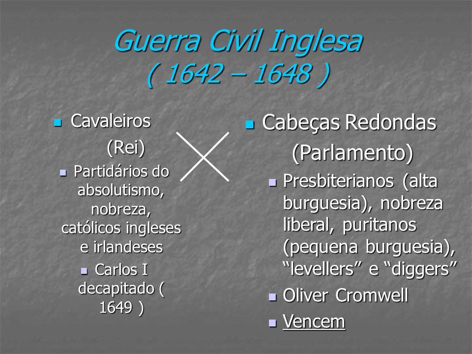 Guerra Civil Inglesa ( 1642 – 1648 )