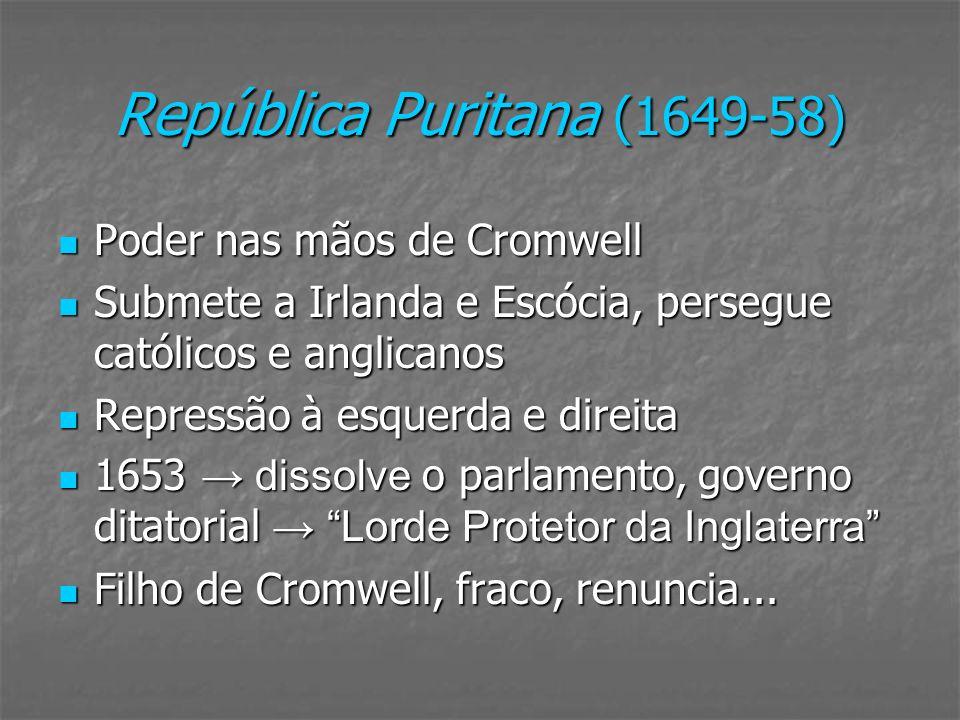 República Puritana (1649-58)