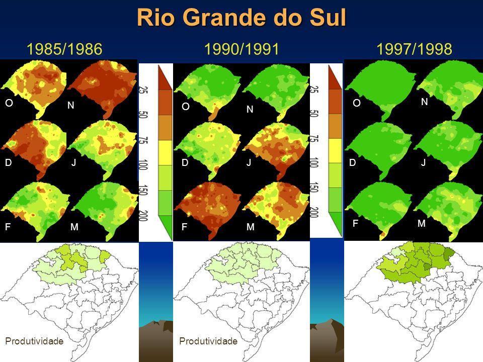 Rio Grande do Sul 1985/1986 1990/1991 1997/1998 O O O O N N N N D J D