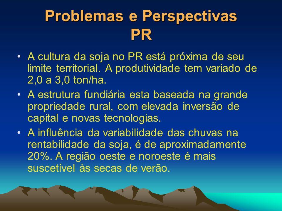 Problemas e Perspectivas PR