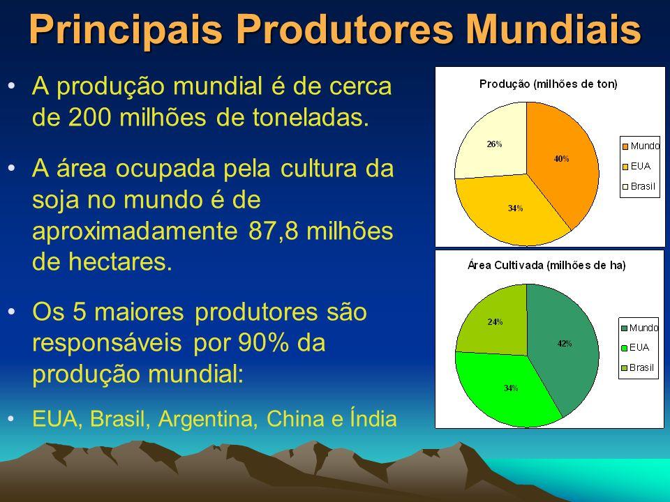 Principais Produtores Mundiais