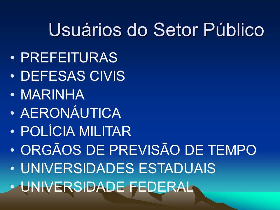 Usuários do Setor Público