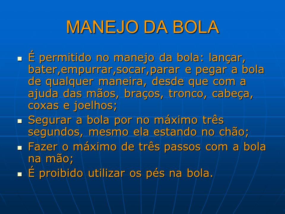 MANEJO DA BOLA