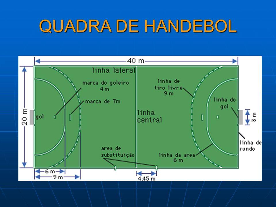 QUADRA DE HANDEBOL