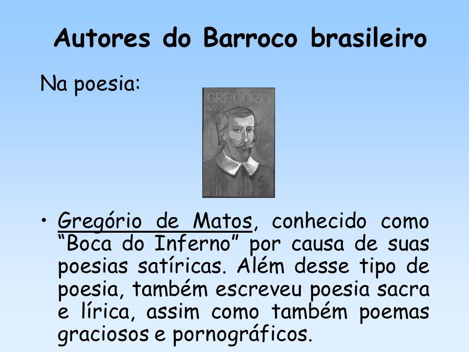 Autores do Barroco brasileiro