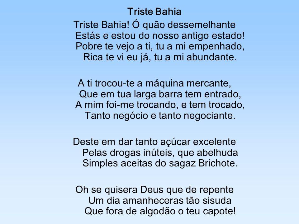 Triste Bahia