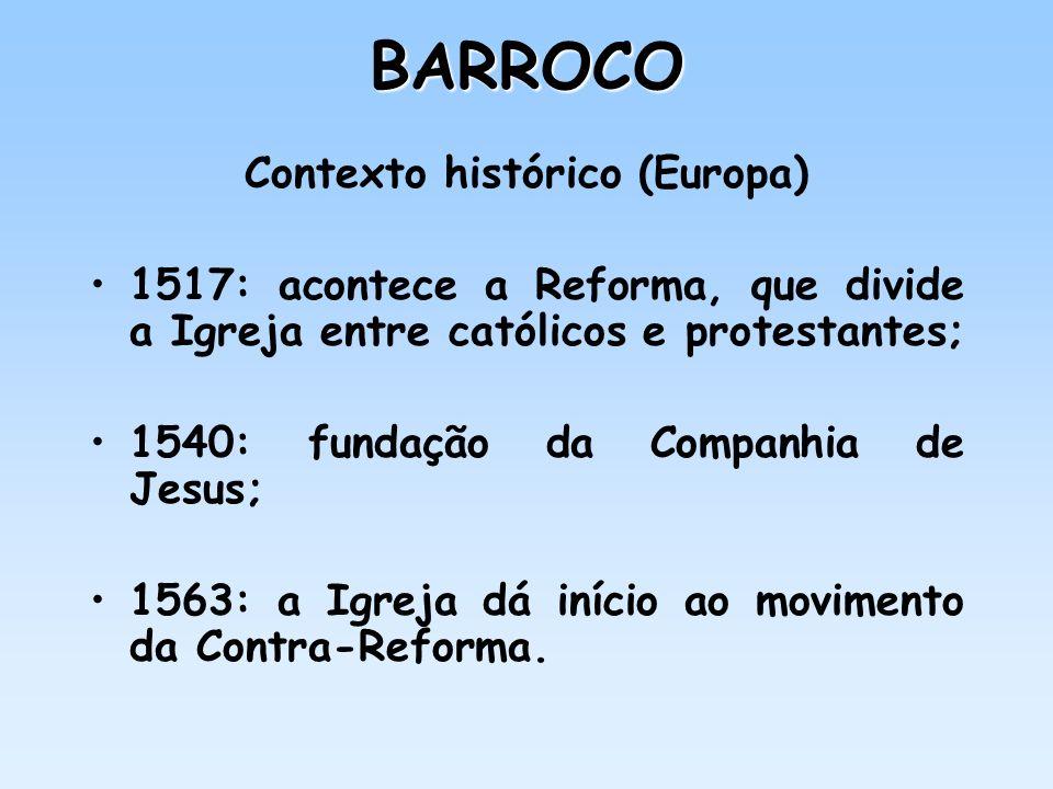 Contexto histórico (Europa)