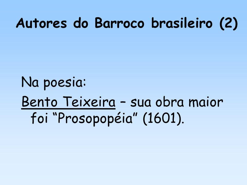 Autores do Barroco brasileiro (2)