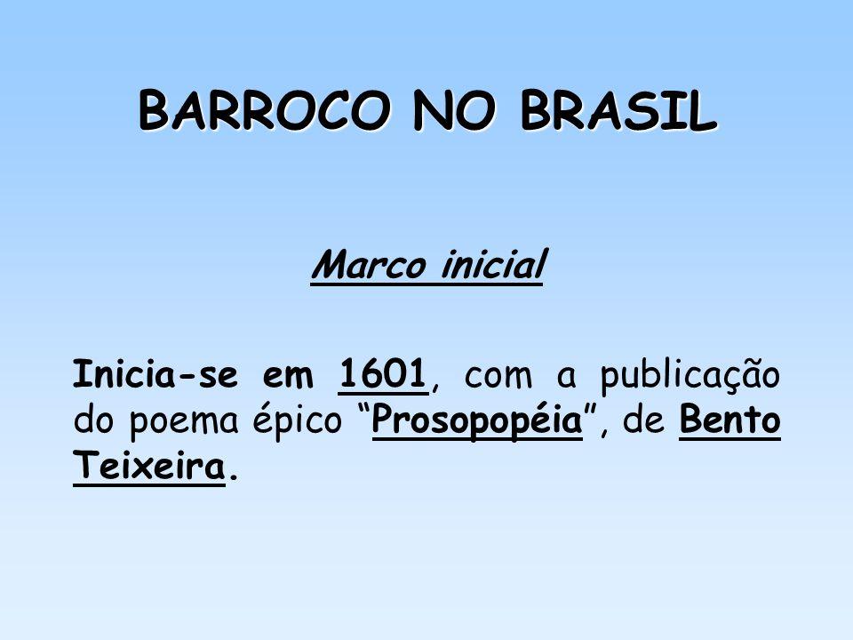 BARROCO NO BRASIL Marco inicial