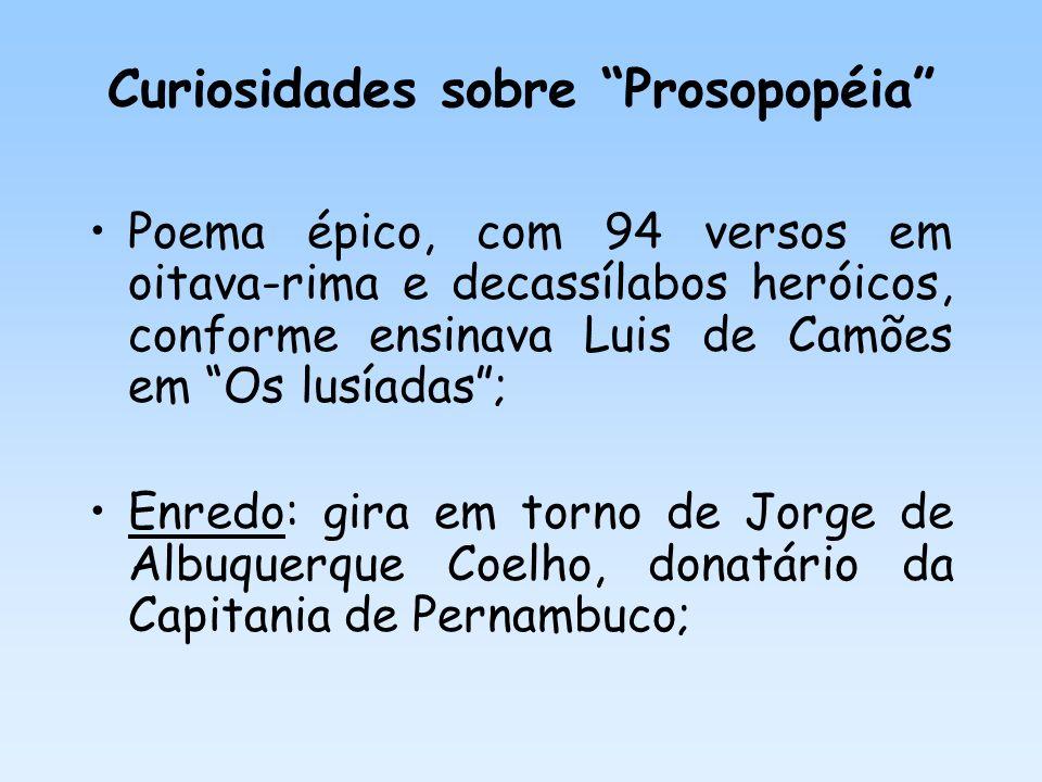 Curiosidades sobre Prosopopéia
