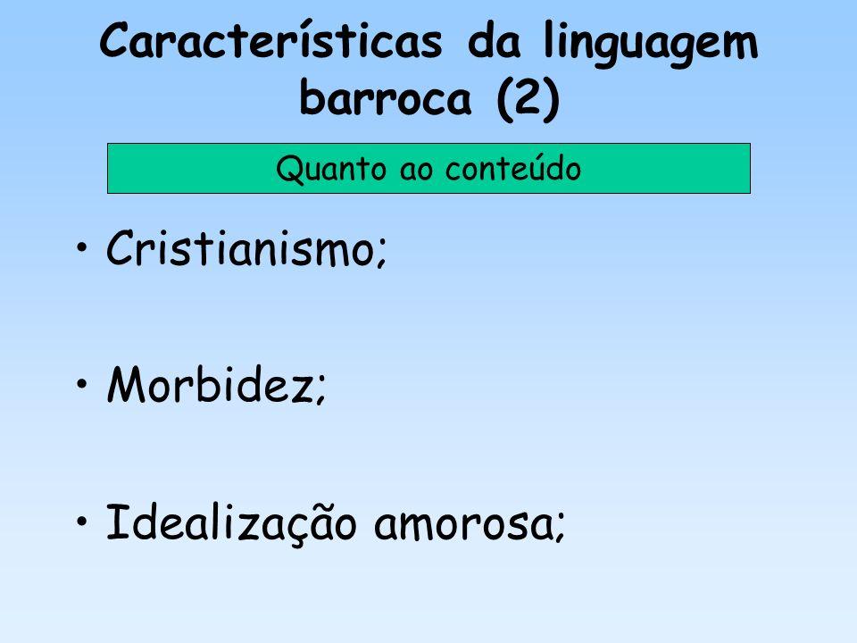 Características da linguagem barroca (2)