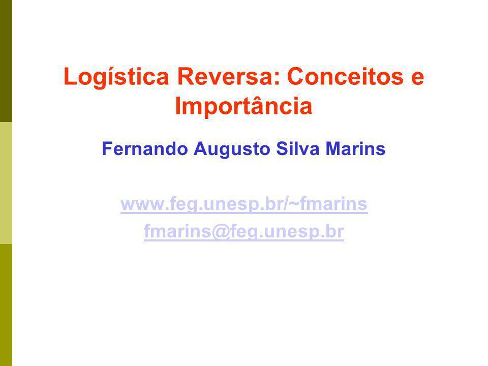 Logística Reversa: Conceitos e Importância