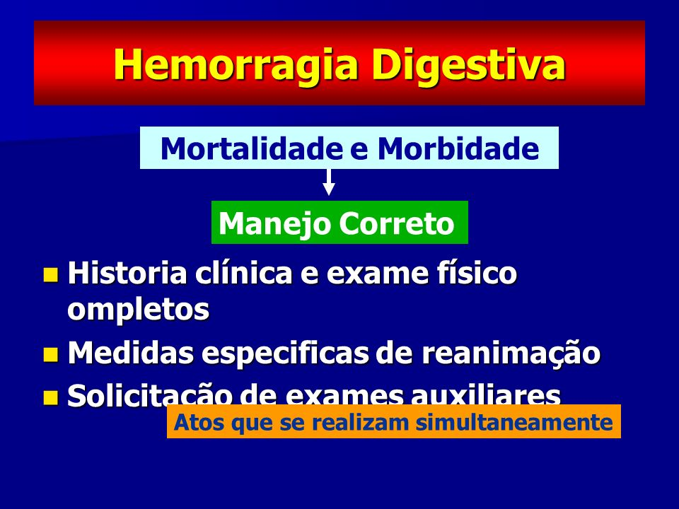 Mortalidade e Morbidade
