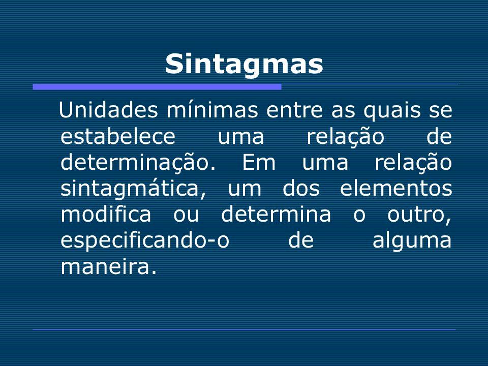 Sintagmas