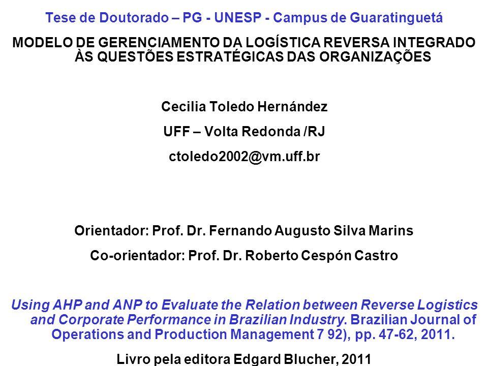 Tese de Doutorado – PG - UNESP - Campus de Guaratinguetá