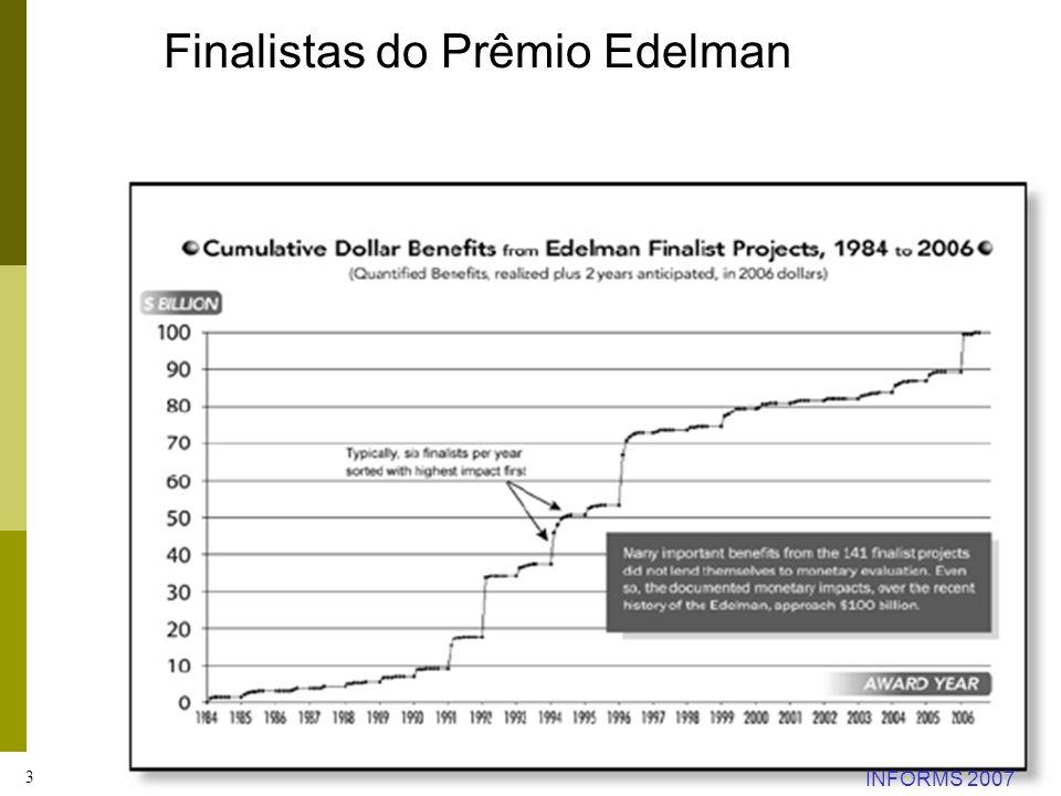 Finalistas do Prêmio Edelman