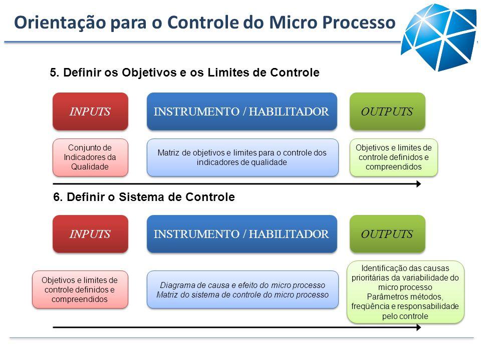 Orientação para o Controle do Micro Processo