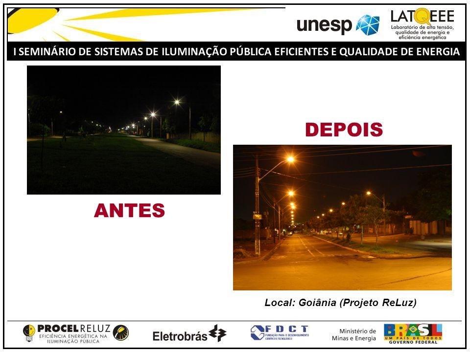 Local: Goiânia (Projeto ReLuz)