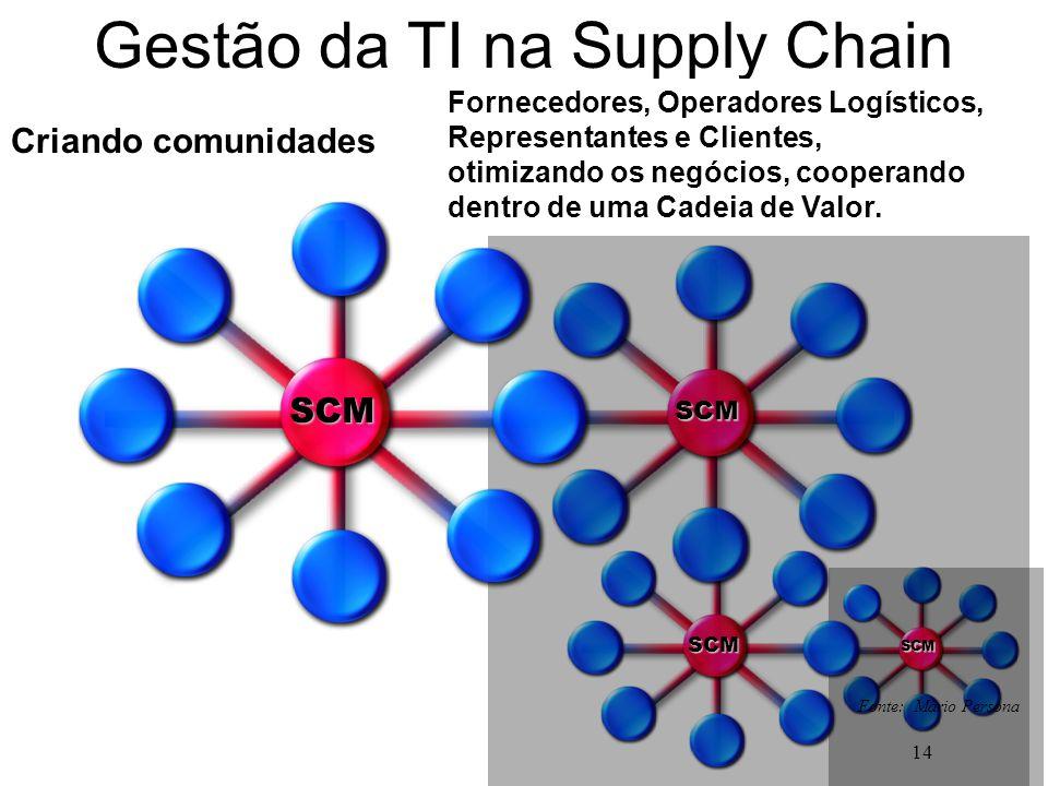 Gestão da TI na Supply Chain