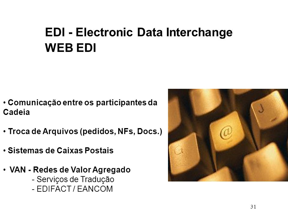 EDI - Electronic Data Interchange WEB EDI