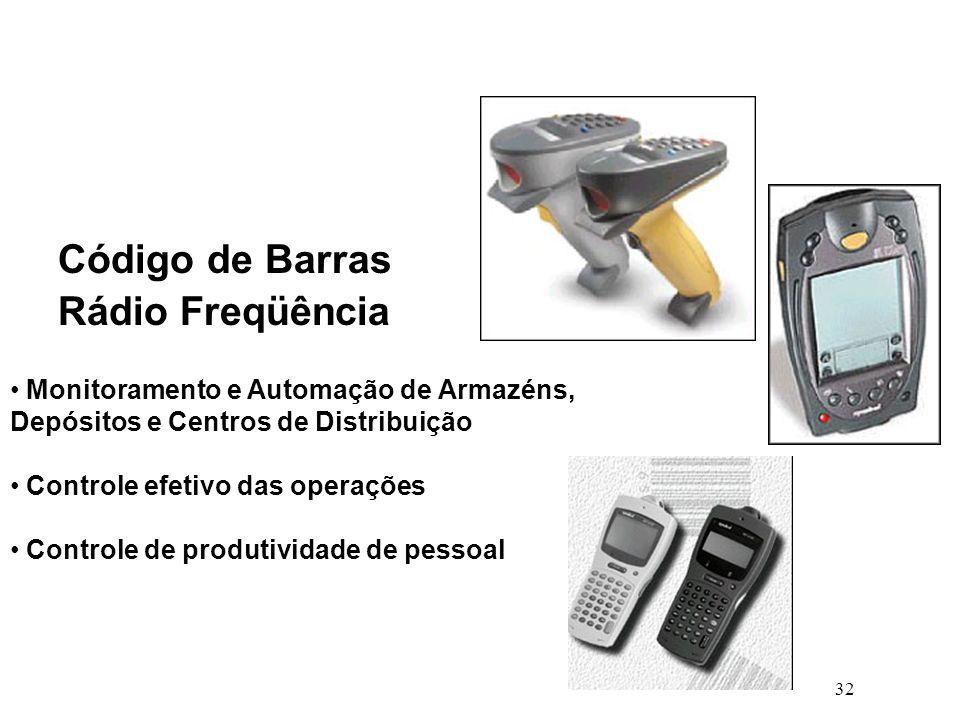 Código de Barras Rádio Freqüência