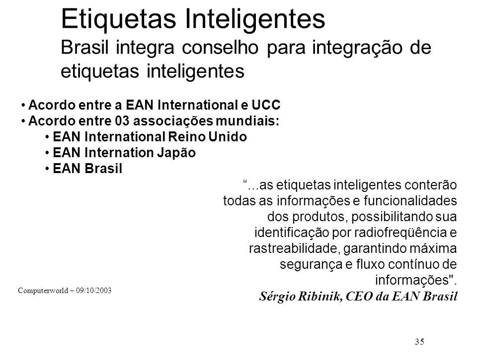 Etiquetas Inteligentes Brasil integra conselho para integração de etiquetas inteligentes