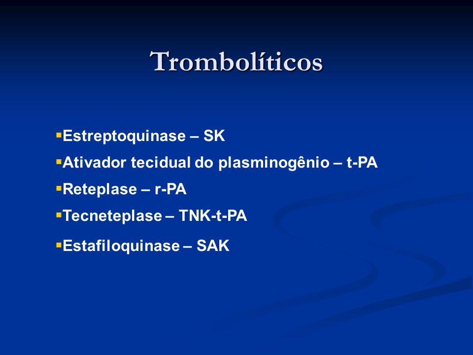 Trombolíticos Estreptoquinase – SK