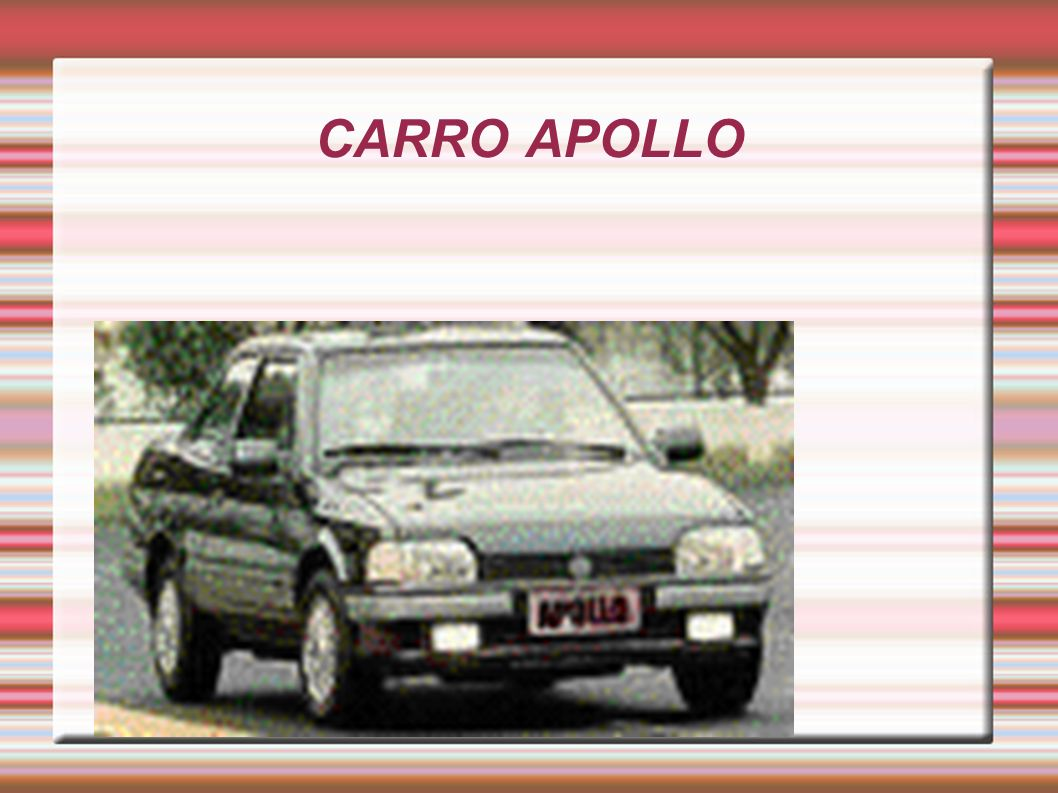 CARRO APOLLO
