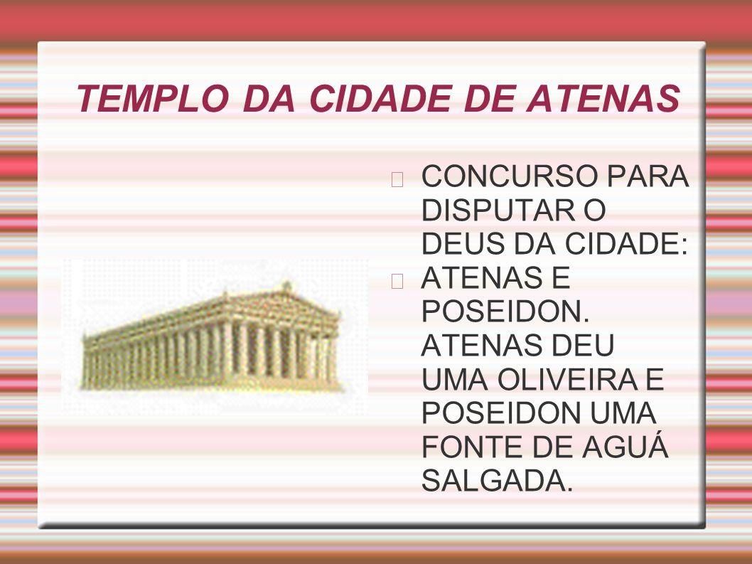 TEMPLO DA CIDADE DE ATENAS
