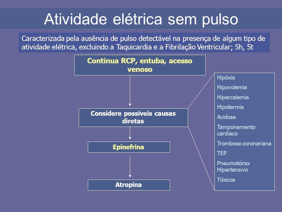 Atividade elétrica sem pulso