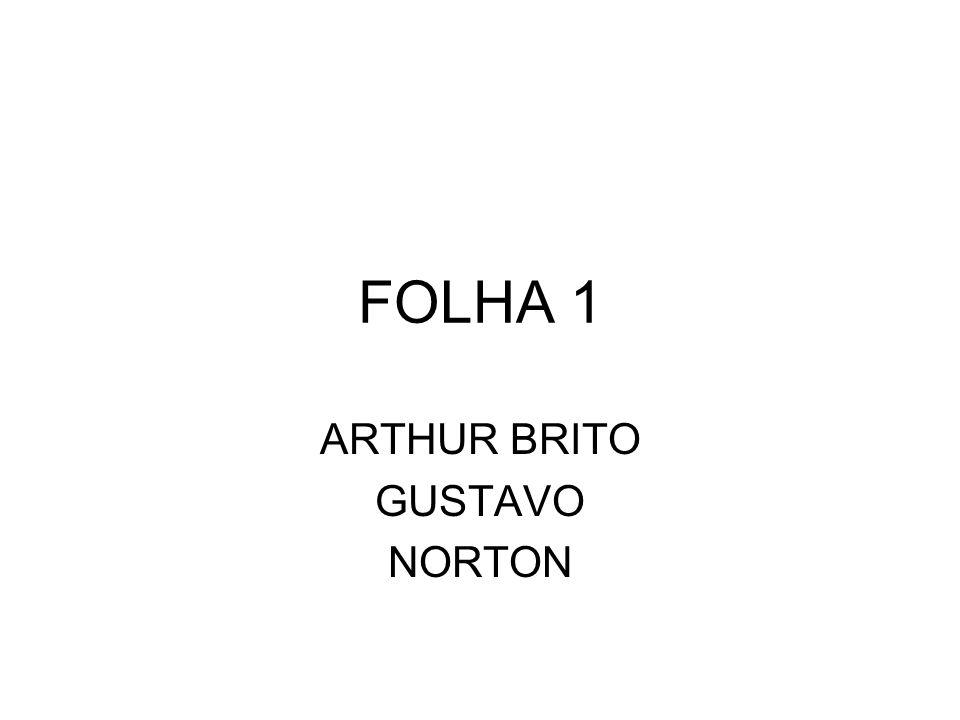 ARTHUR BRITO GUSTAVO NORTON