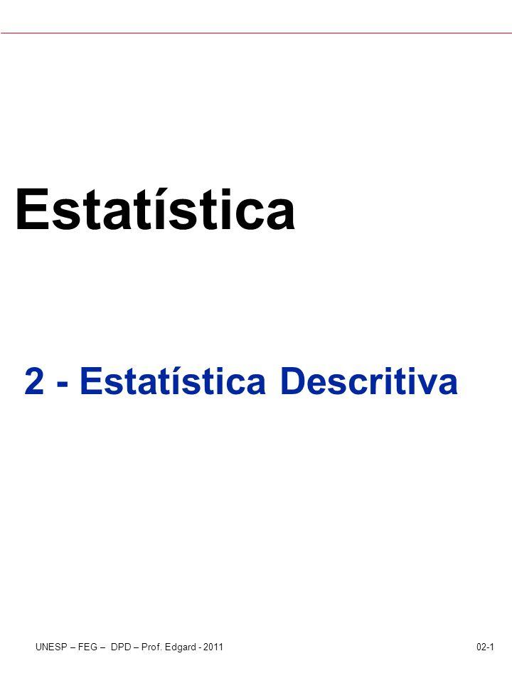2 - Estatística Descritiva