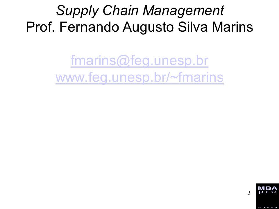 Supply Chain Management Prof.