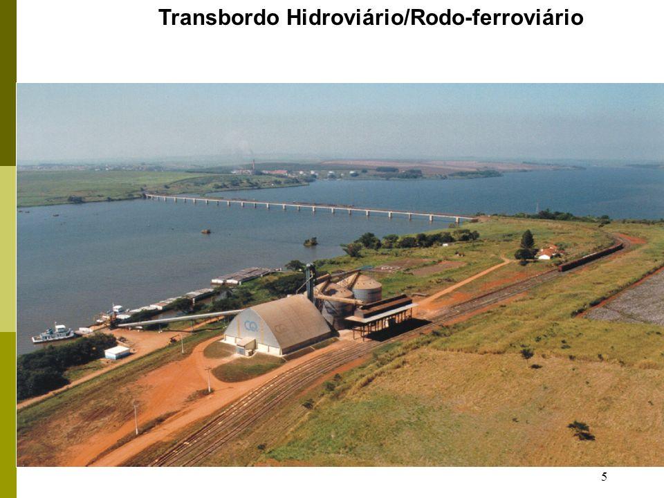 Transbordo Hidroviário/Rodo-ferroviário