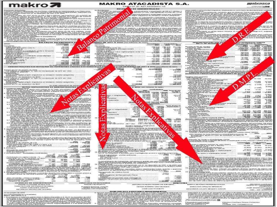 Balanço Patrimonial D.R.E. D.M.P.L. Notas Explicativas Notas Explicativas Notas Explicativas