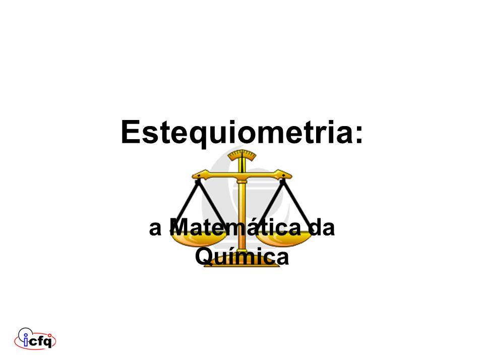 a Matemática da Química