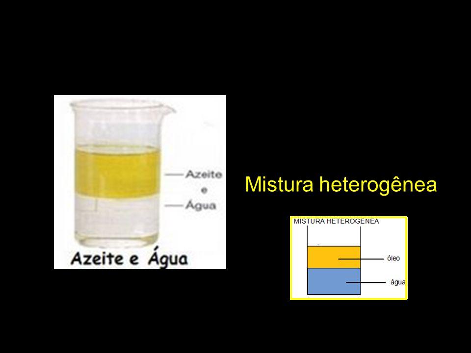 Mistura heterogênea