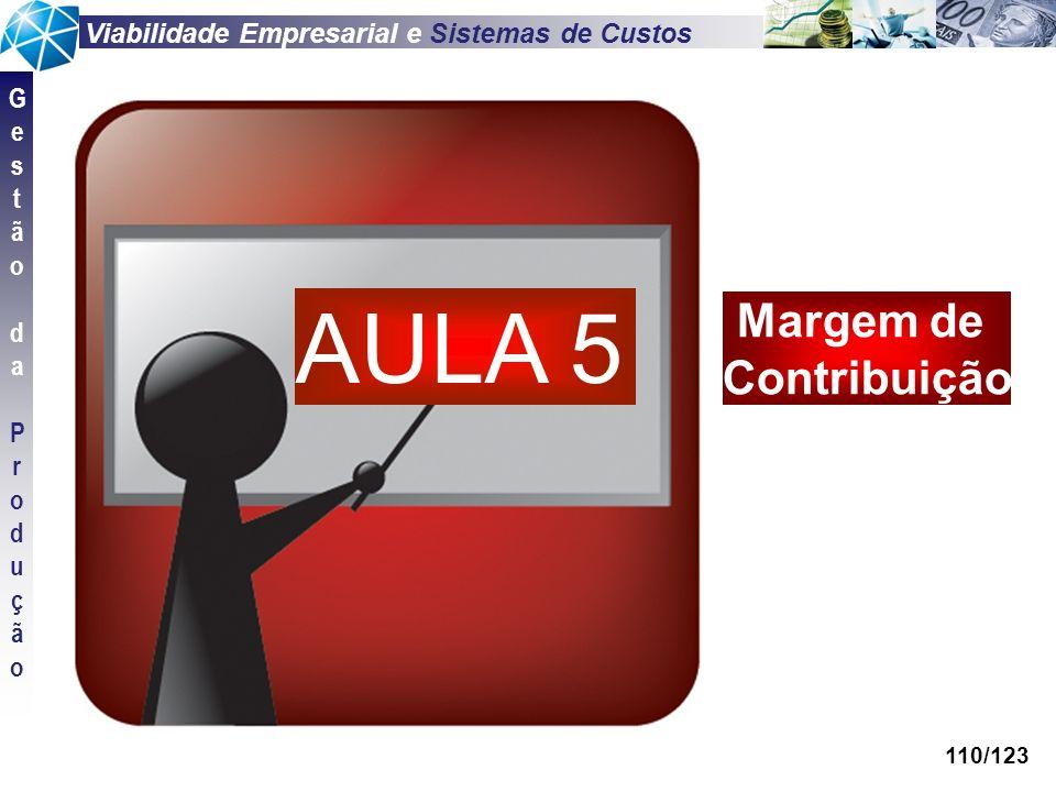 AULA 5 Margem de Contribuição 110