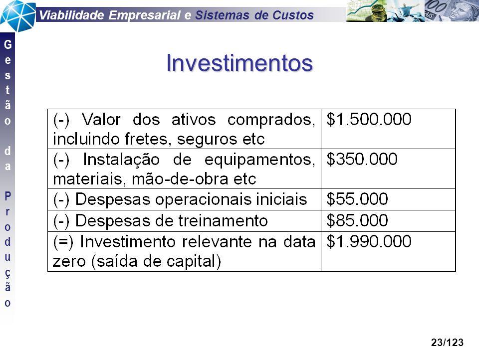 Investimentos 23