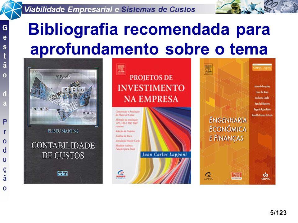 Bibliografia recomendada para aprofundamento sobre o tema