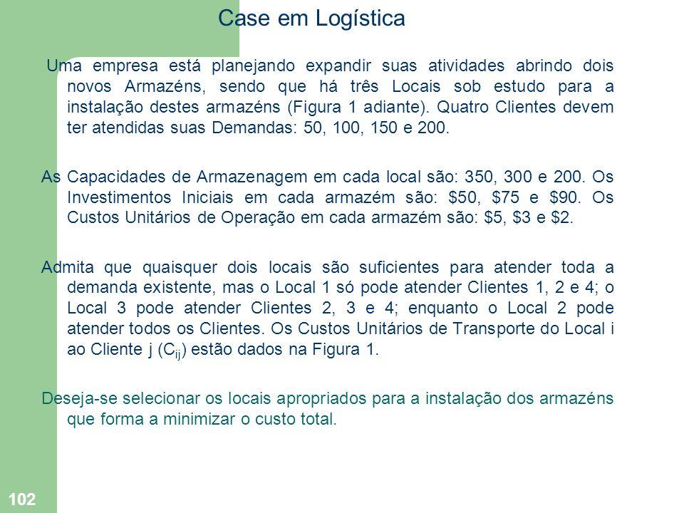 Case em Logística