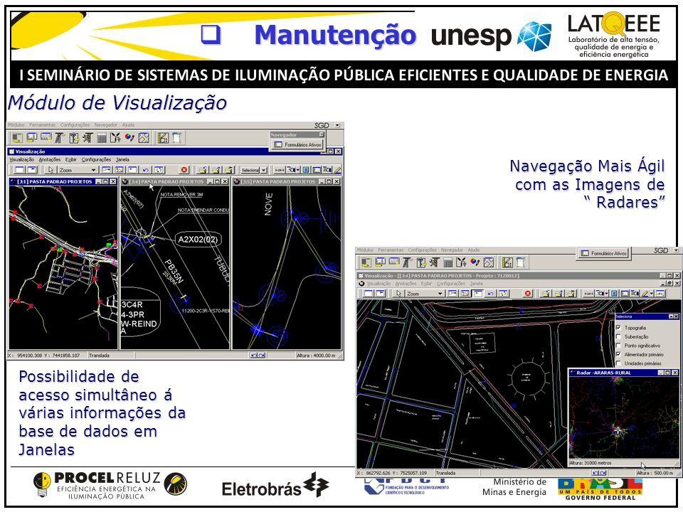Manutenção Módulo de Visualização