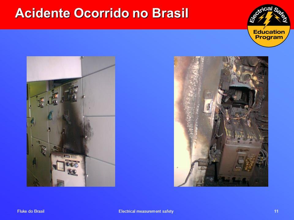 Acidente Ocorrido no Brasil