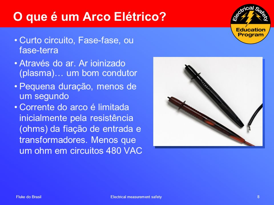 O que é um Arco Elétrico Curto circuito, Fase-fase, ou fase-terra