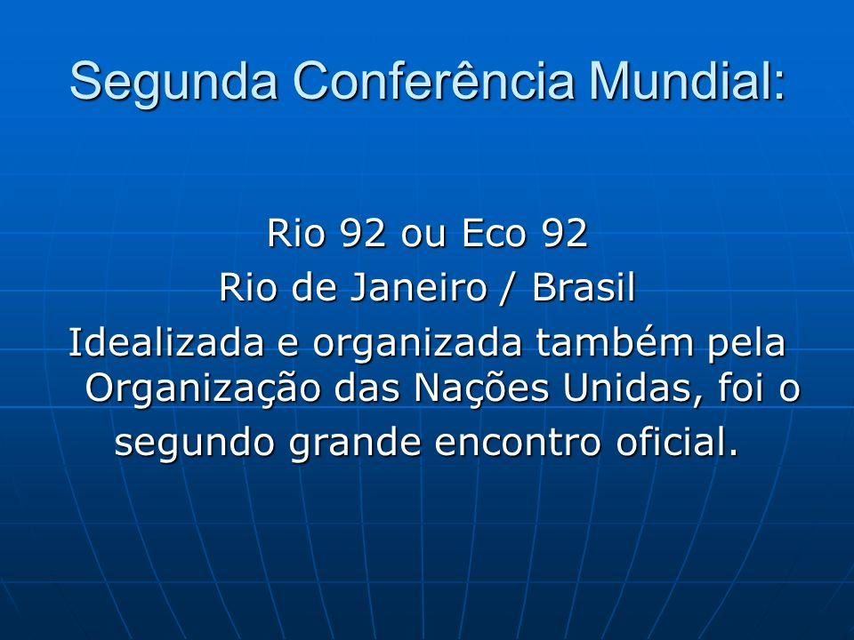 Segunda Conferência Mundial: