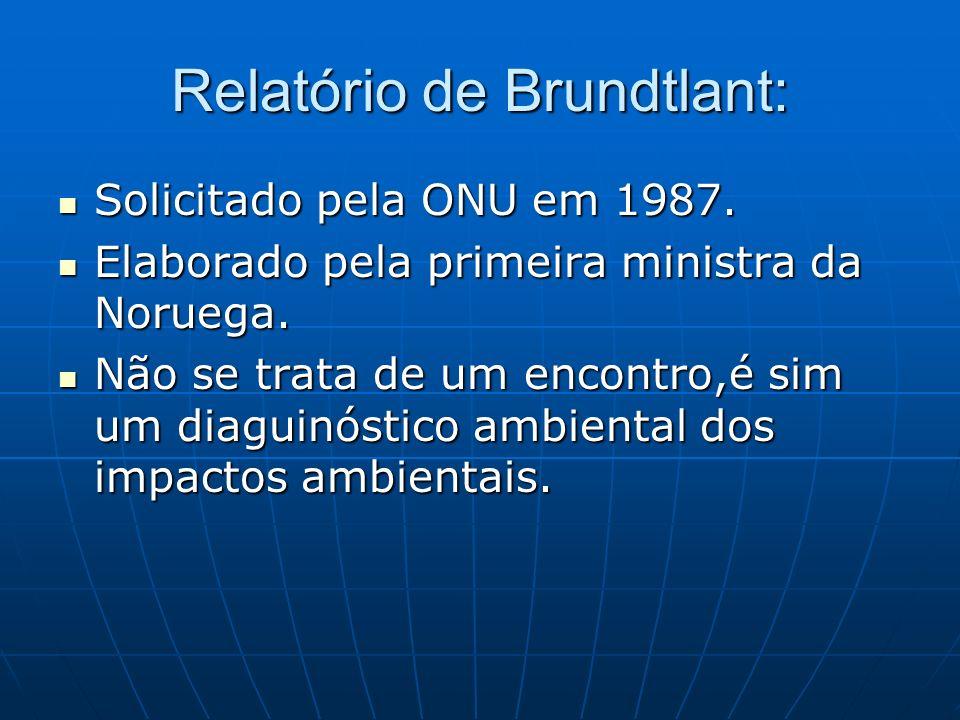Relatório de Brundtlant: