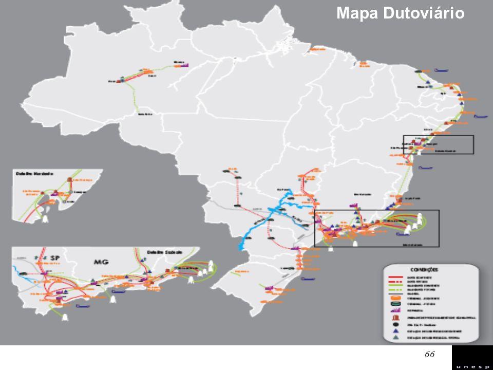 Mapa Dutoviário